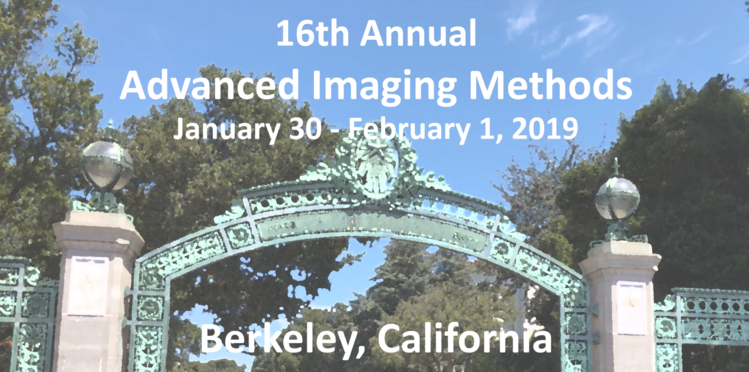 Advanced Imaging Methods 2019