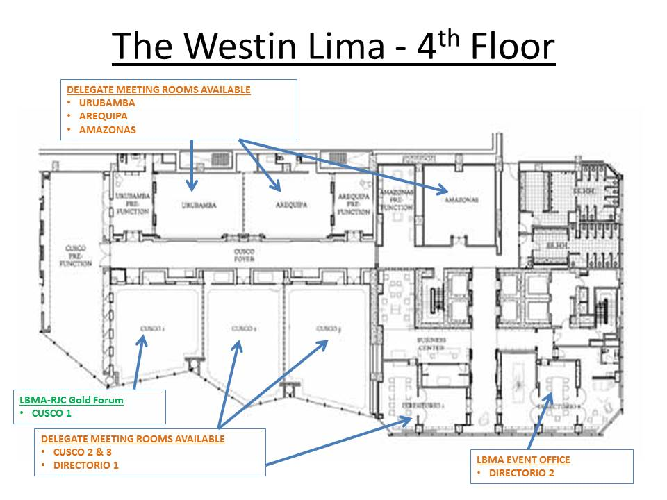 Lbma precious metals conference lima 2014 for Westin homes floor plans