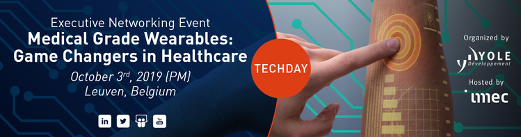 TechDay: Medical Grade Wearables – Game Changers in Healthcare