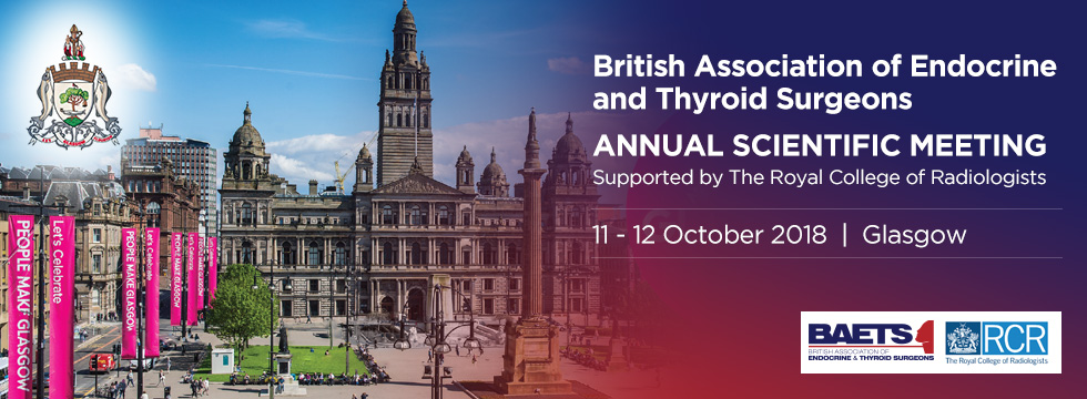 BAETS Glasgow 2018 Annual Scientific Meeting