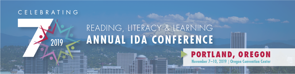 2019 IDA Annual Reading, Literacy & Learning Conference