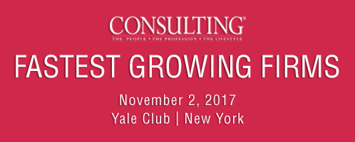 2017 Consulting's Fastest Growing Firms