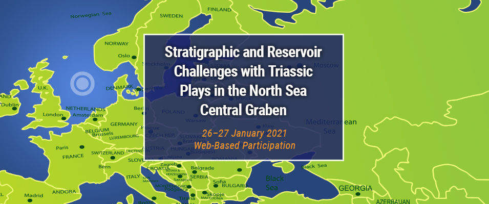 Virtual conference - Stratigraphic and reservoir challenges with Triassic plays in the North Sea Central Graben