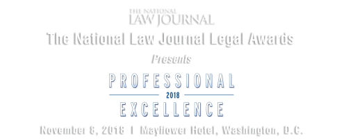 2018 The National Law Journal Legal Awards