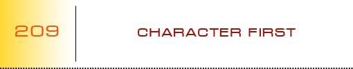 Character First logo