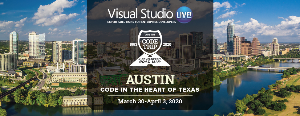 Visual Studio Live! Austin 2020