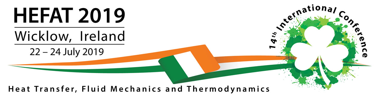 14th International Conference on Heat Transfer, Fluid Mechanics and Thermodynamics