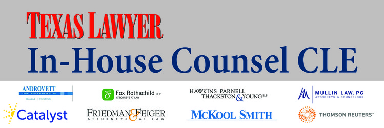 09.15.16 In-House Counsel CLE (Dallas)