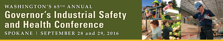 2016 Governor's Industrial Safety and Health Conference