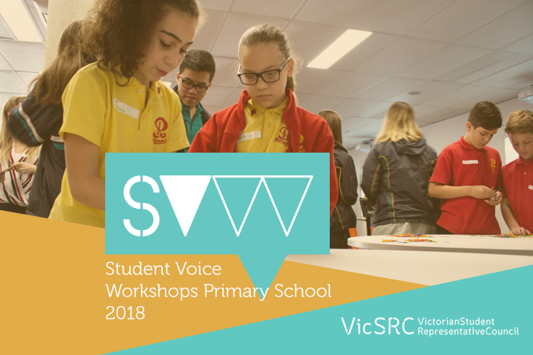 VicSRC T3 2018 Primary Student Voice Workshops