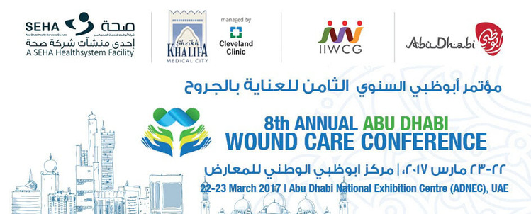 8th Annual Abu Dhabi Wound Care Conference_March 22 - 23, 2017