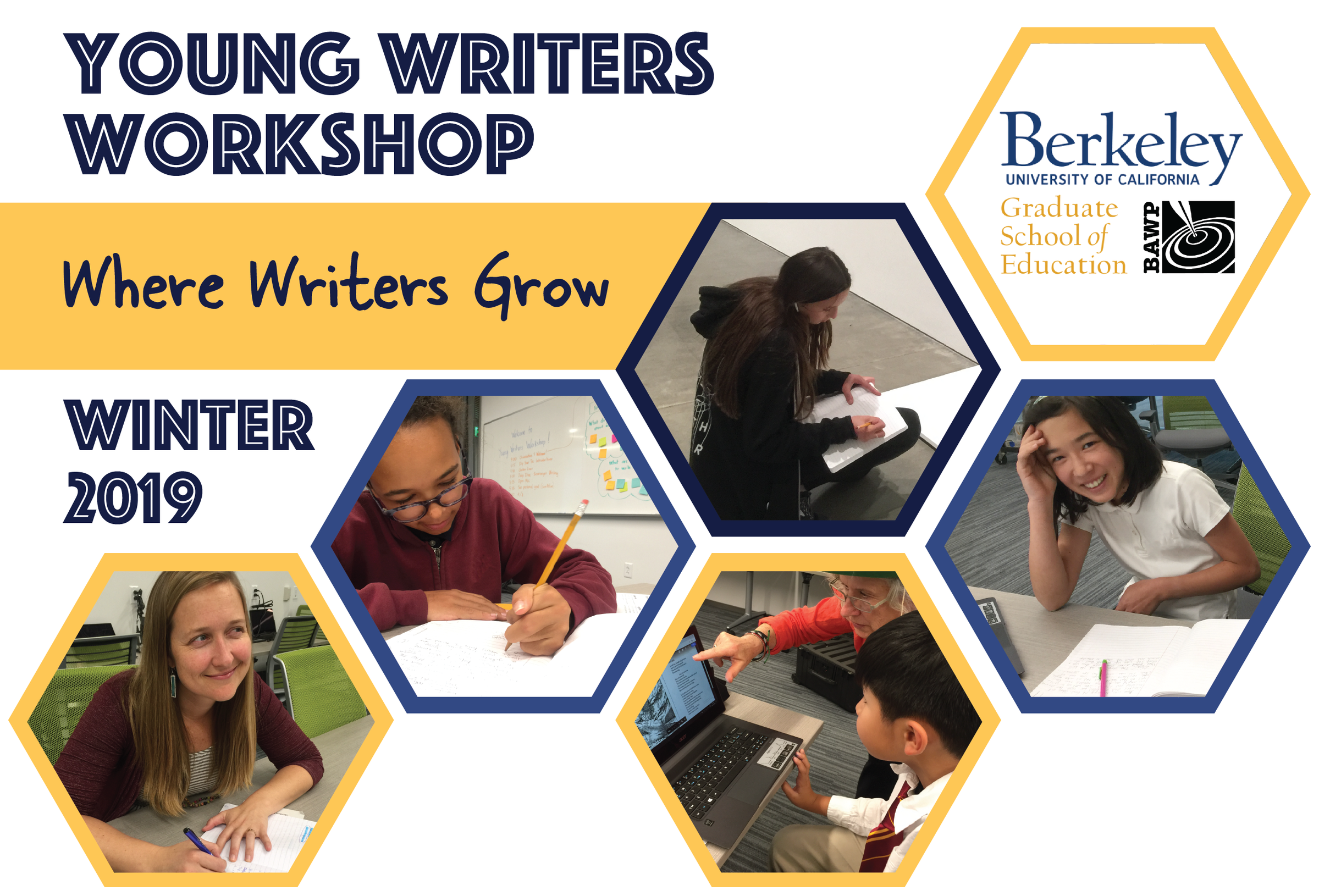Young Writers Workshop: Winter 2019
