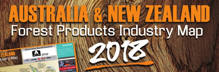 Forest Products Industry Map 2018 (AU)