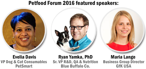 Petfood Forum 2016 speakers