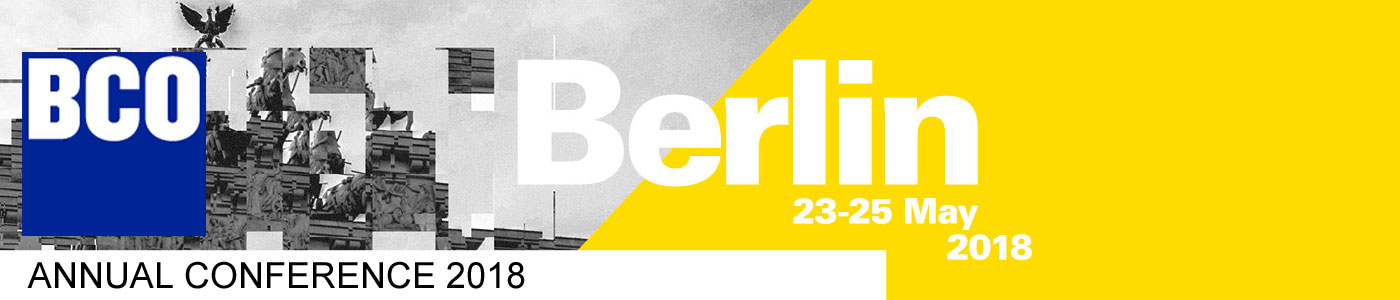 BCO Conference Berlin 2018