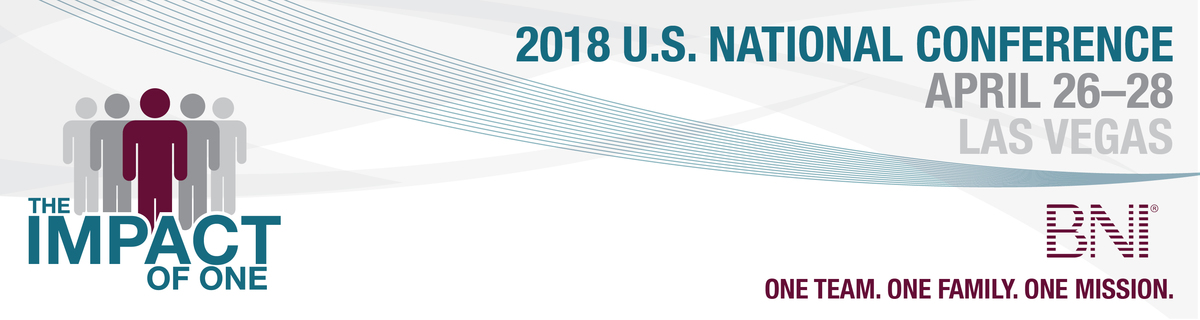 BNI U.S. National Conference: April 26-28, 2018