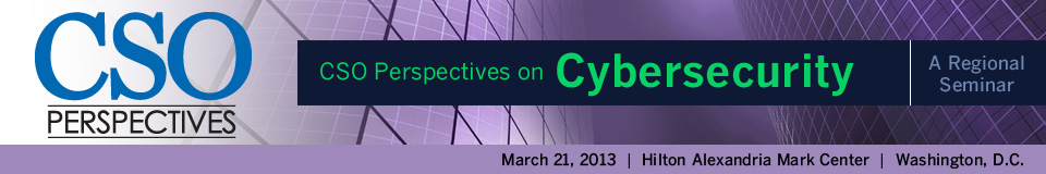 CSO Perspectives Seminar on Cyber Security