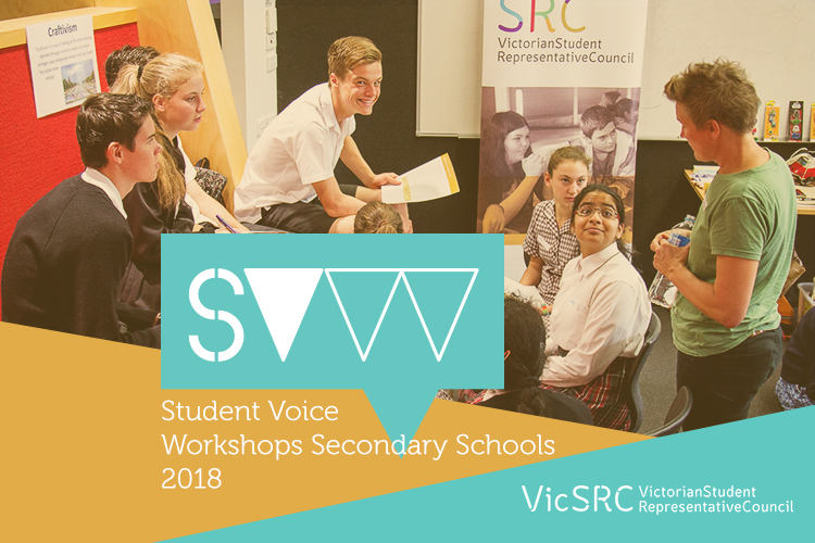 VicSRC T2 2018 Secondary Student Voice Workshops