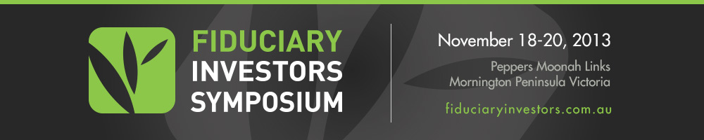 Fiduciary Investors Symposium, Mornington Peninsula