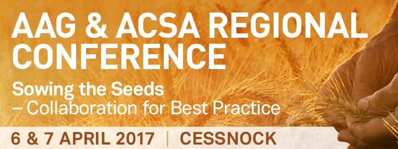 2017 ACSA & AAG Regional Conference