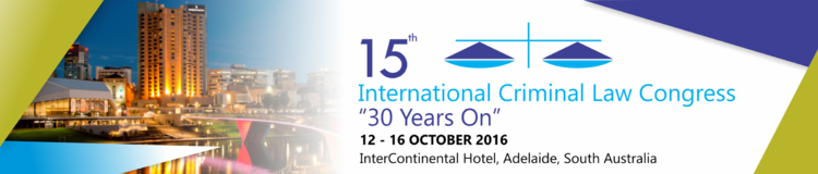 15th International Criminal Law Congress 2016