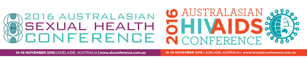 2016 Australasian Sexual Health Conference and 2016 Australasian HIV&AIDS Conference