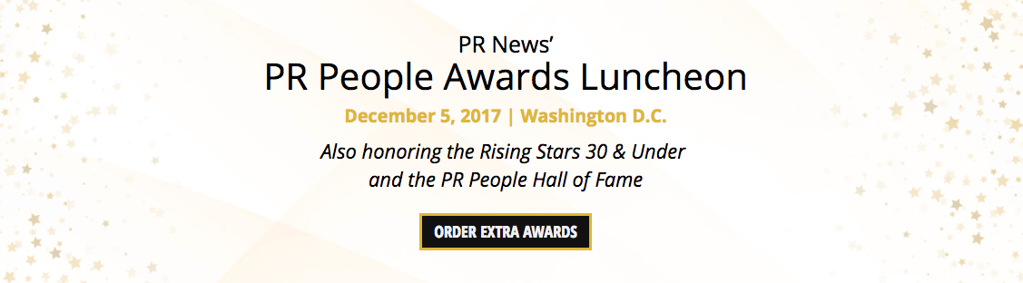 PR News' PR People Awards Luncheon Extras