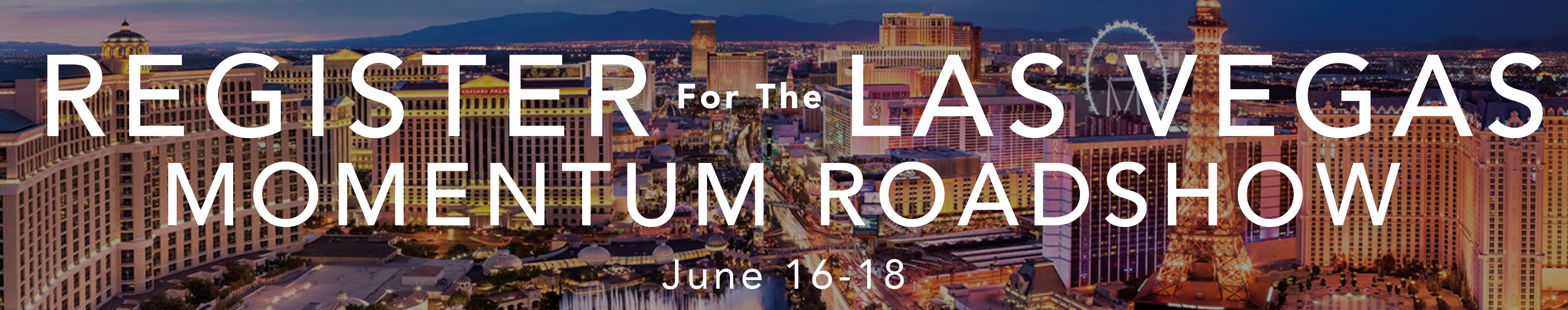 Register for Las Vegas