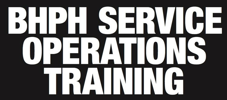 BHPH Service Operations Training School February 5, 2019