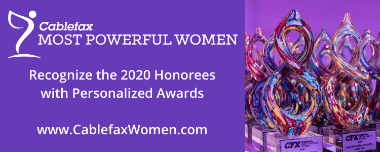 Cablefax Most Powerful Women Award Orders