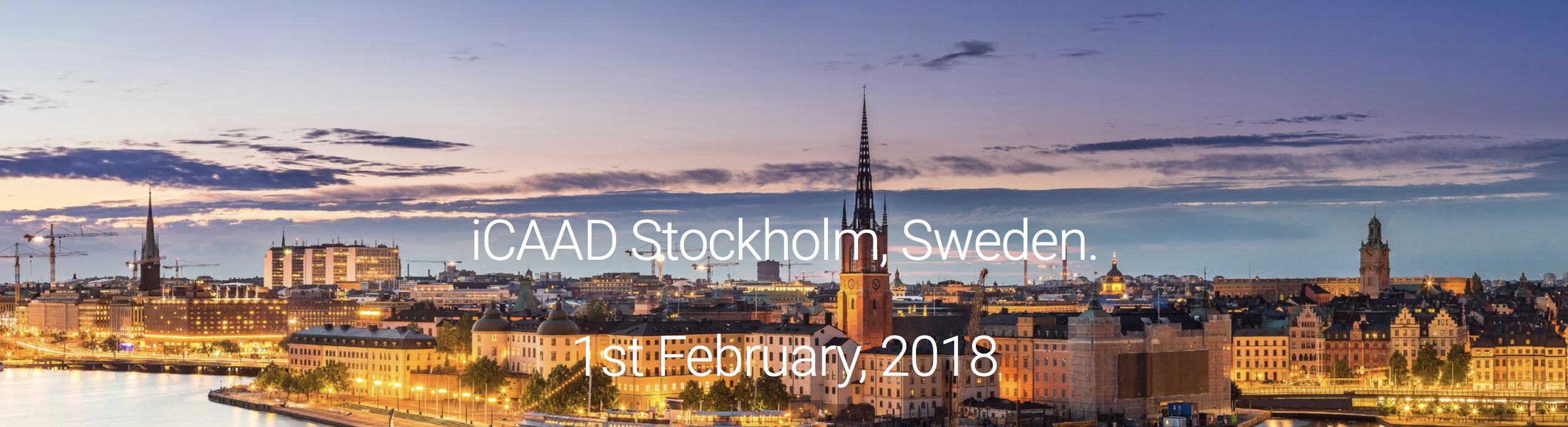 ICAAD Sweden February 1st 2018