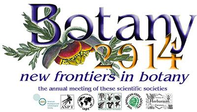Botany 2014 - new frontiers in botany!