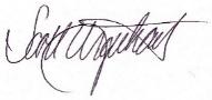 Scott Urquhart Signature