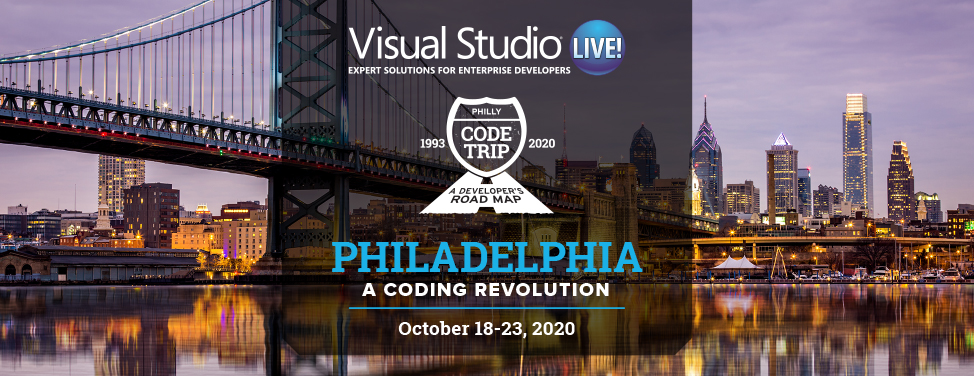 Visual Studio Live Philadelphia 2020
