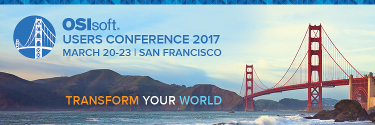 OSIsoft Users Conference 2017 - SF
