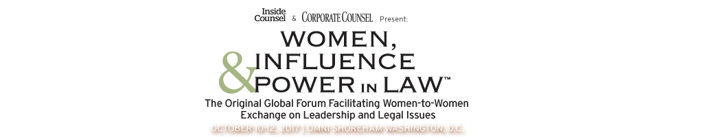 2017 WIPL - Women, Influence & Power in Law