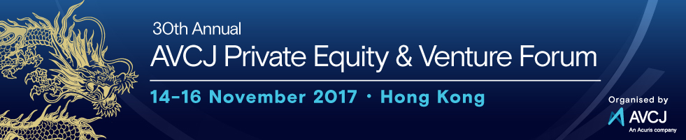 AVCJ Private Equity & Venture Forum - Hong Kong 2017