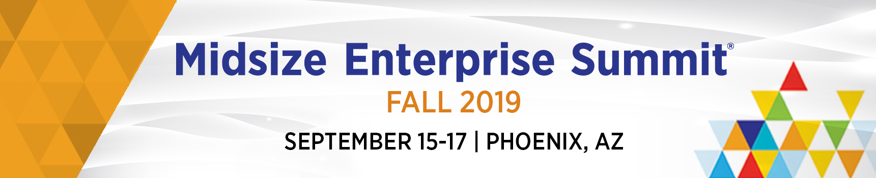 Midsize Enterprise Summit Fall 2019