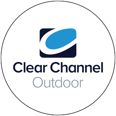 Clear Channel Outdoor logo in circle