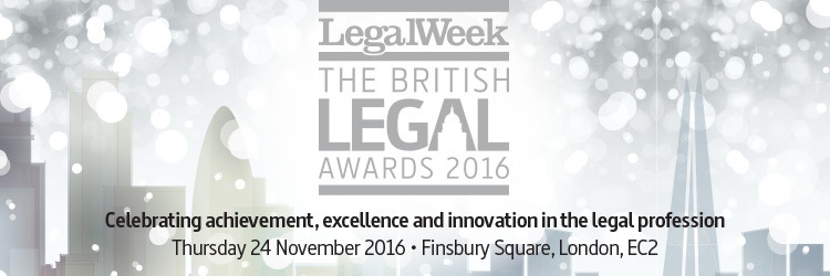 The British Legal Awards 2016