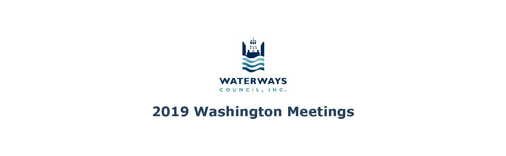 2019 Washington Meetings