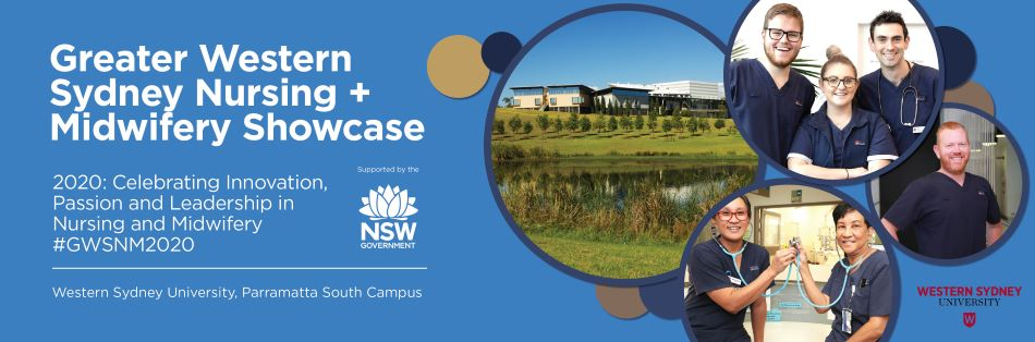 Greater Western Sydney Nursing + Midwifery Showcase 2020