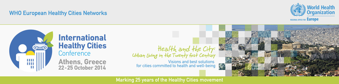 WHO International Healthy Cities Conference