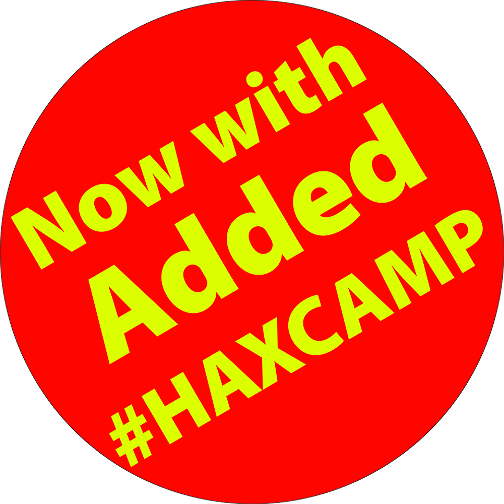 HAXCAMP Sticker