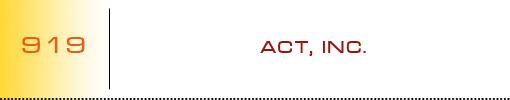 ACT, Inc. logo
