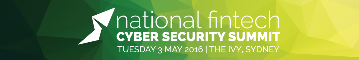 National Fintech Cyber Security Summit 2016
