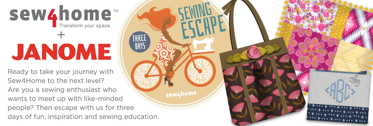 Sew4Home Sewing Escapes Retreat