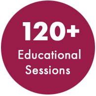 100+ Educational sessions