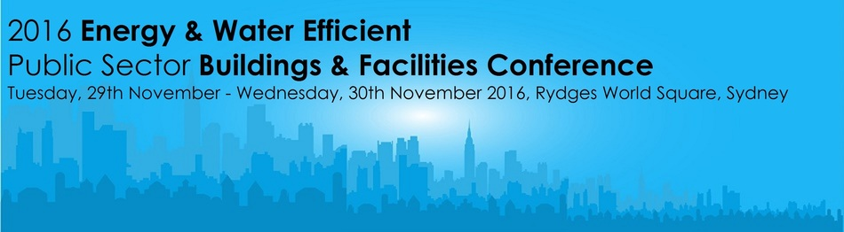 2016 Energy & Water Efficient Public Sector Buildings & Facilities Conference