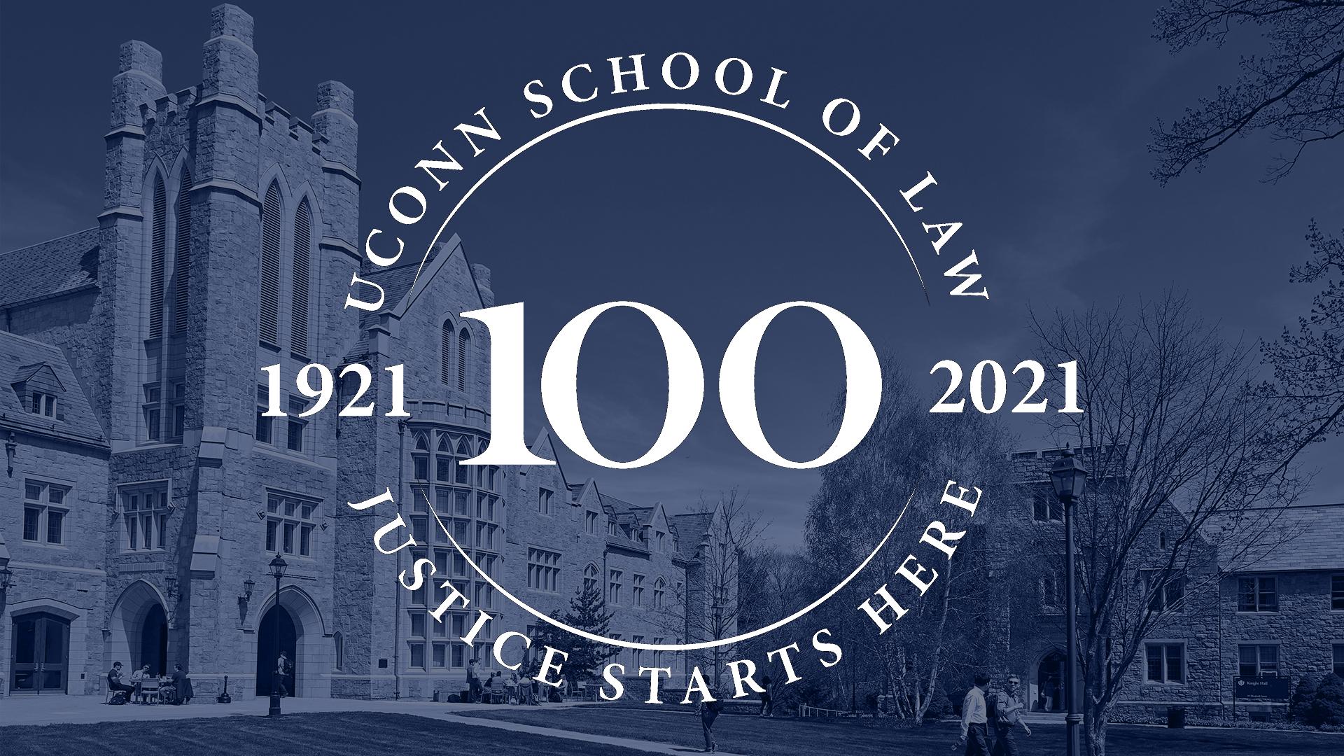 law centennial logo